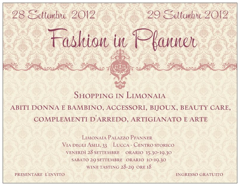 Smilingischic Fashion in Pfanner invito