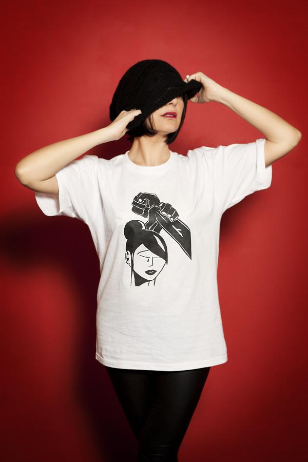 Smilingischic , No alla violenza contro le donne, t-shirts