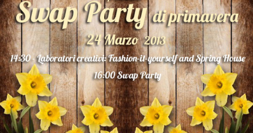 Swap Party di Primavera