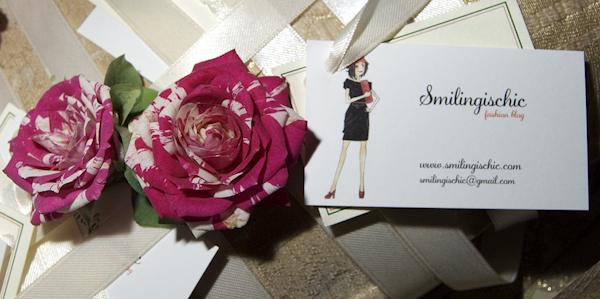 Smilingischic, fashion blog, Swap party in rosa, Rosa Tea Fiori, corsage