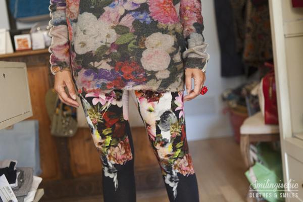 smilingischic, fashion blog, Moi Je Joue Tonfano atelier, nuova collezione Autunno Inverno 2013/2014, dettagli fiori sweet rosee brand,