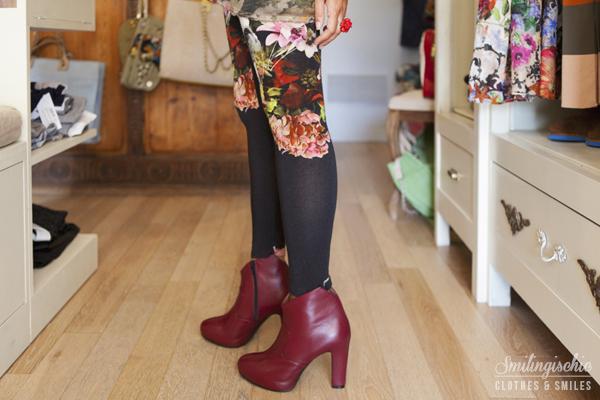 smilingischic, fashion blog, Moi Je Joue Tonfano atelier, nuova collezione Autunno Inverno 2013/2014. tronchetti Fiori Francesi,