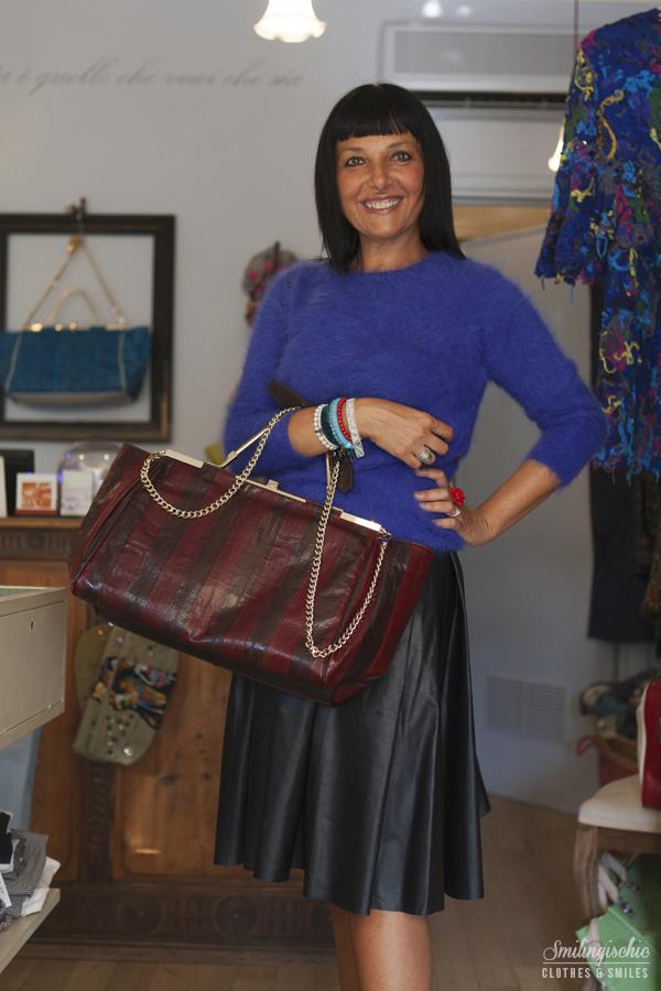 smilingischic, fashion blog, Moi Je Joue Tonfano atelier, nuova collezione Autunno Inverno 2013/2014, Zanchetti, Roberto collina mohair,