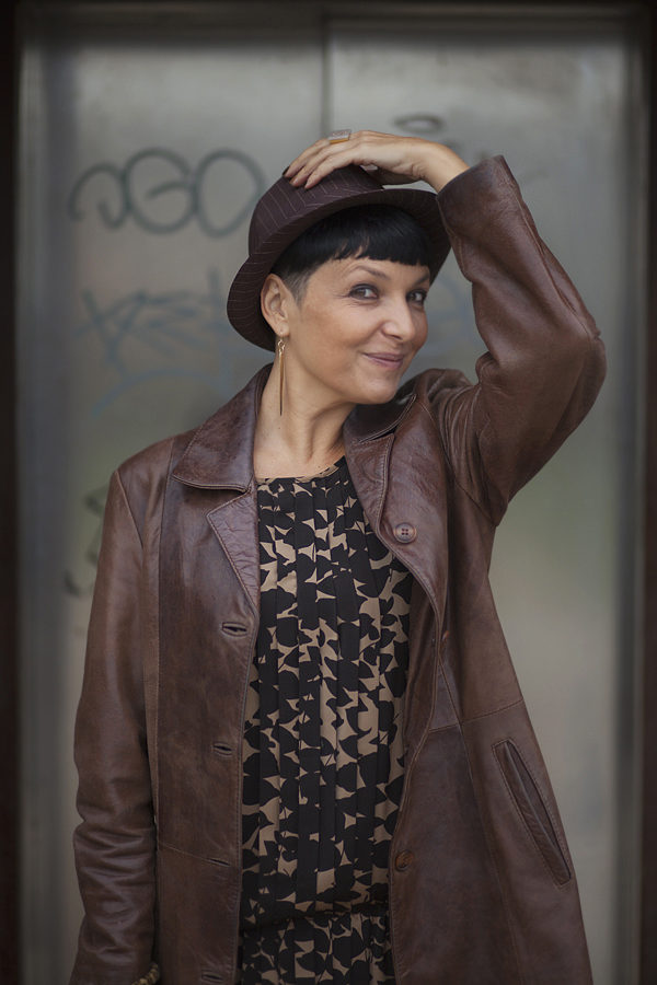 Smilingischic, fashion blog, giacca di pelle, sorriso, Baracco backpack , Like a marron glaces