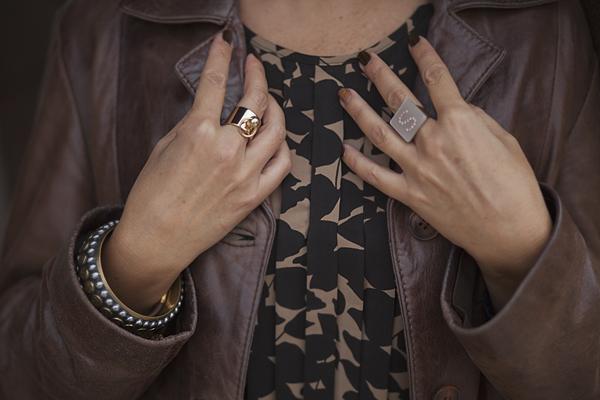 Smilingischic, fashion blog, giacca di pelle, , Baracco backpack , Like a marron glaces, look autunnale, baracco bag, dettagli accessori ,
