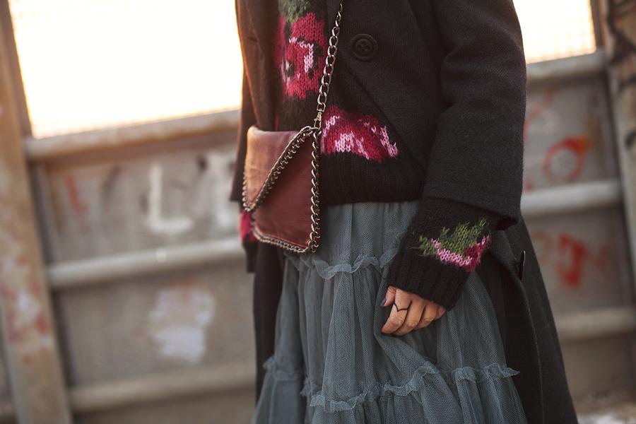 Smilingischic, fashion blog, Sandra Bacci, Memories or pictures, platforms Asos, dettaglio gonna di tulle, floral jumper, Smilingischic - Memories-1009
