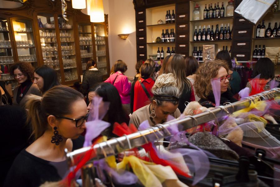 Smilingischic, fashion blog, swap party reportage, swap natalizio, Aria Café restaurant, Lucca, eventi, Smilingischic - Swap Party - Natale-1002