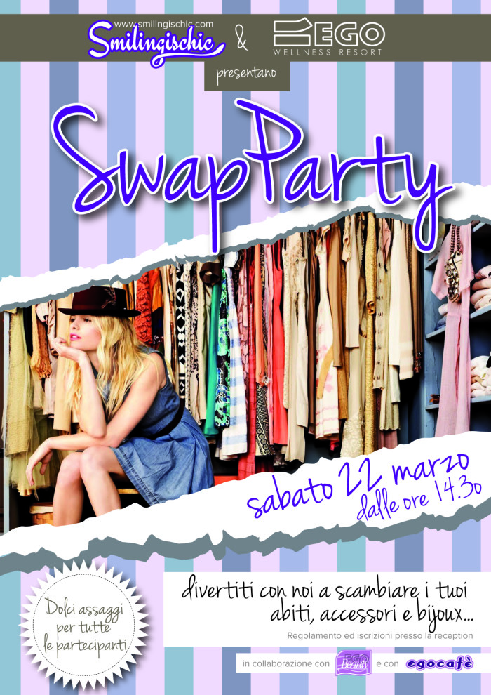 Smilingischic, fashion blog, Swap party locandina swaparty_2014-01