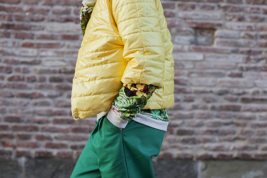 Smilingischic, fashion blog, green and yellow, Dixie,