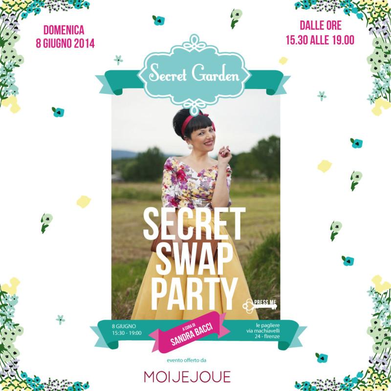 Smilingischic, Swap Party, Secret Garden, Sandra Bacci e gli Swap parties, Noi per Voi Onlus