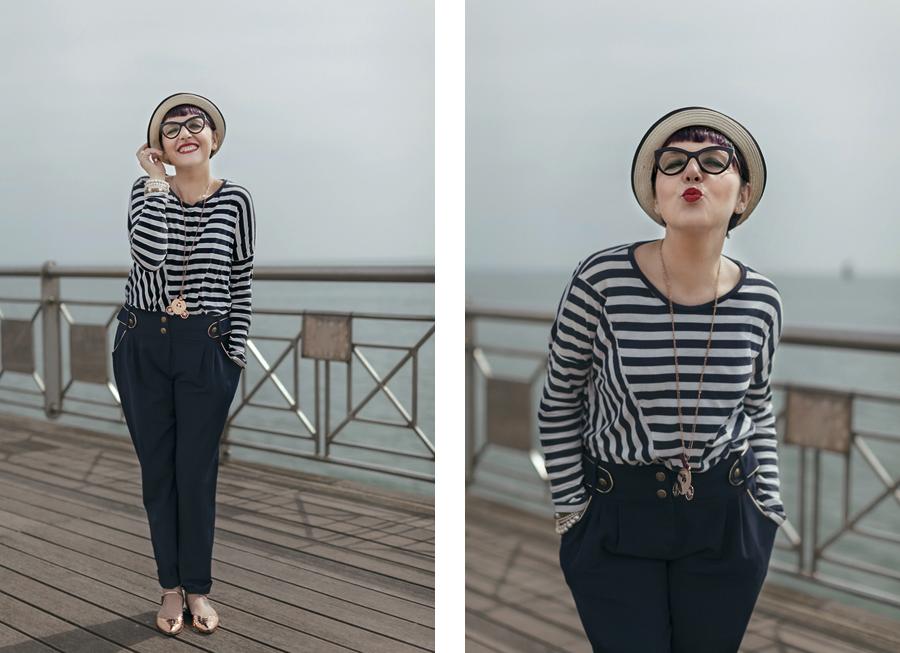 Smilingischic -100,7sailor style,  ironia, strips,  Tonfano, beach sailor style,  ironia, strips,  Tonfano, beach, bacio