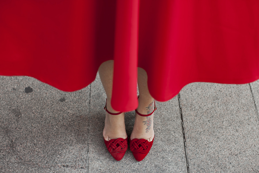 Smilingischic | Sodini Bijoux -1007,Red,  What is the color of joy,  Nora Scarpe di Lusso.