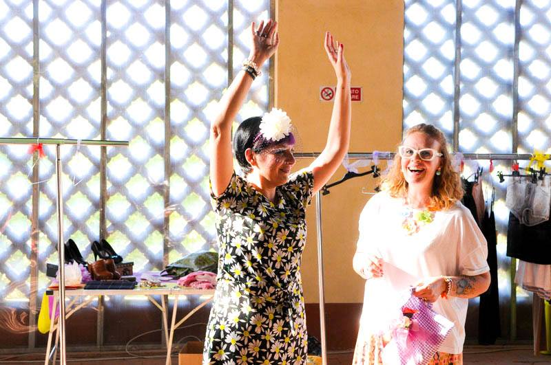 smilingischic, fashion blog, Swap party a Firenze, Secret Garden , Sandra Bacci