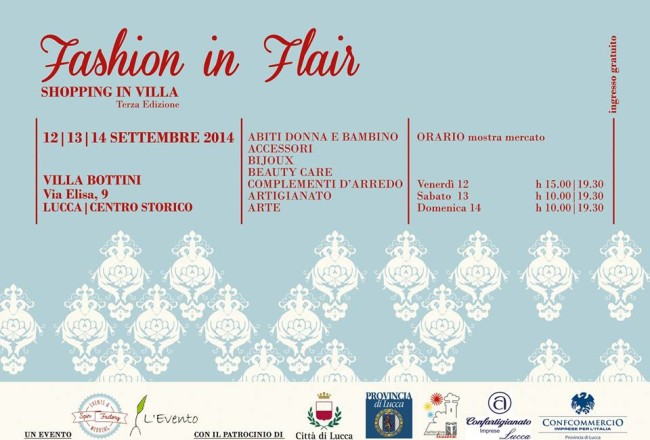 Smilingischic, Fashion in Flair Lucca, invito ufficiale