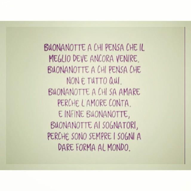 Buonanotte ❤️ #goodnight #quotes #me  #life