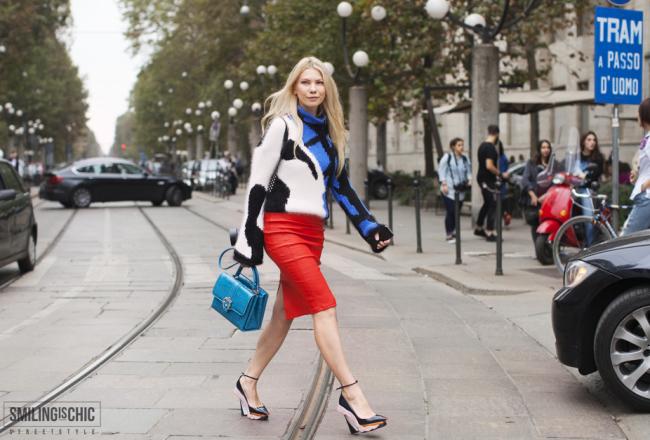 Zhanna Romashka | borsa Cademartoli | scarpe Dior