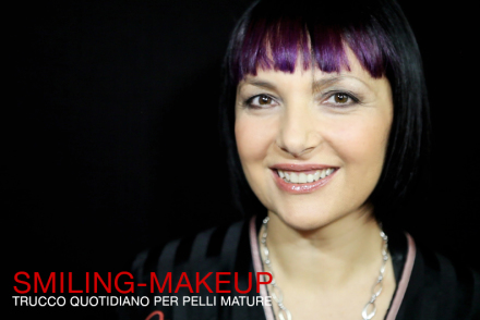 Smilingischic, make up quotidiano per pelli mature, smiling Make -up ,