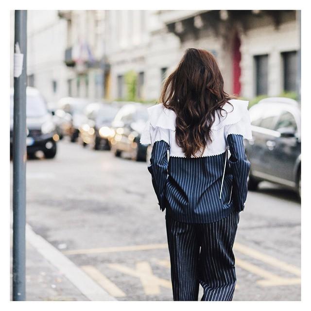 #new #streetstyle on www.smilingischic.com #inspiration  #style  #milanomodauomo #Milan_fashion @eleonoracarisi