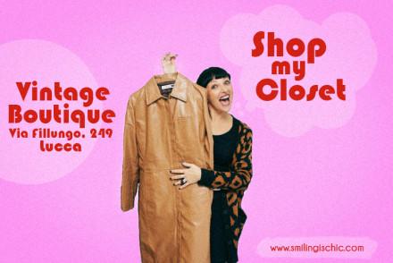 Locandina DEFINITIVA, Shop my closet, Smilingischic