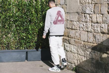 Firenze Pitti Uomo 87 - Pantalone Carhartt felpa Palace