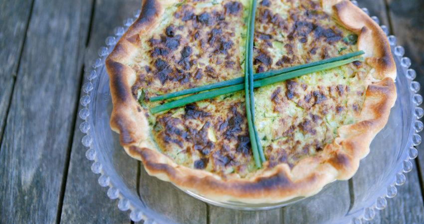 La Torta salata di X – Men con ricotta e verdure verdi
