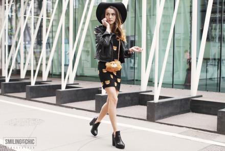 Street Style Milano Fashion Week 2015 Moschino Maria Prikolistova