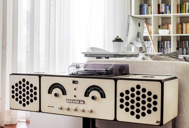 design italiano anni 60, radiofonografo brionvega