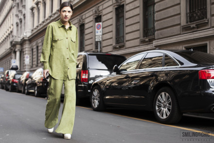 Street Style Fashion Week 2015 - Patricia Manfield