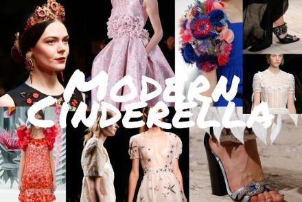 Modern cinderella style
