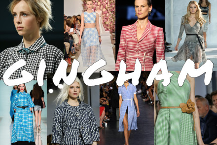 come interpretare il gingham trend 2015