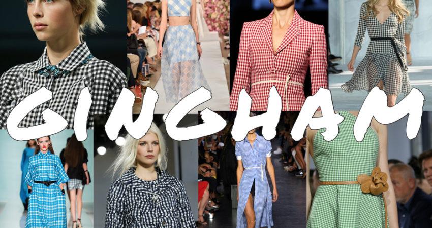 Le scelte di Giulia: Gingham trend 2015