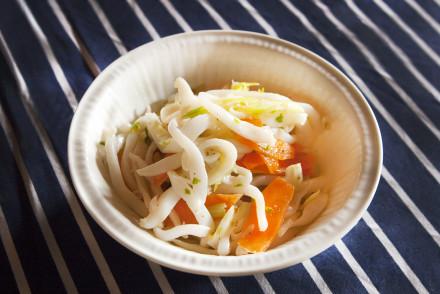insalatina di mare tiepida ricetta
