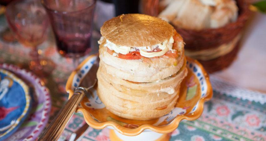 Panettone Gastronomico … ma chi l'ha detto che va mangiato solo a Natale?