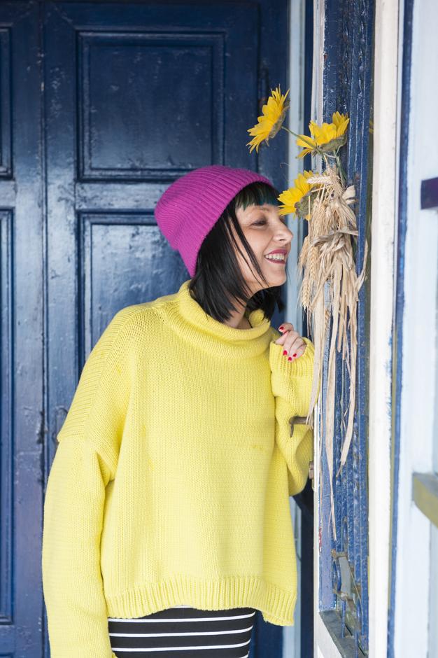 smiling girl, smilingischic, Sandra Bacci
