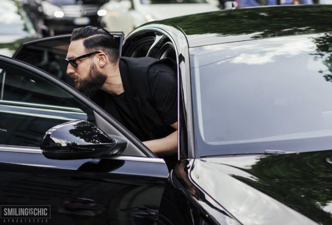 All black, milano moda uomo 2015
