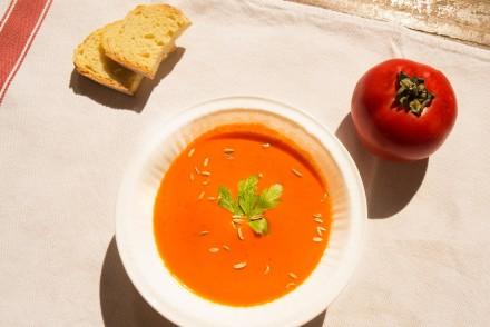 ricetta crema di pomodoro, Smiling in the kitchen