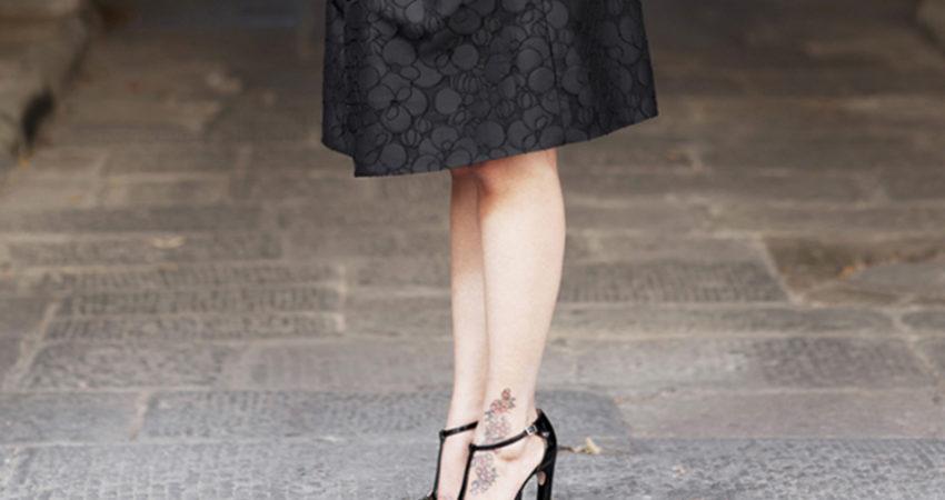 Little black dress – Campagna ADV S/S 2015 Atelier Ricci