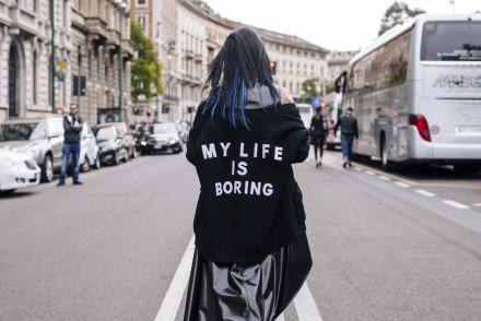 my life is boring, Sandra Bacci