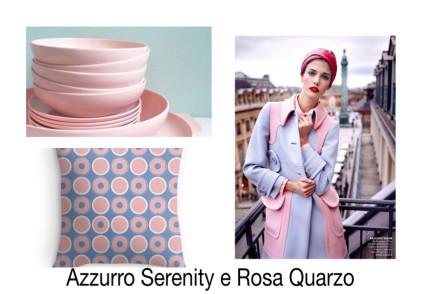 Smilingischic, Azzurro Serenity e Rosa Quarzo