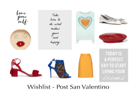Copertina, wishlist Post San Valentino