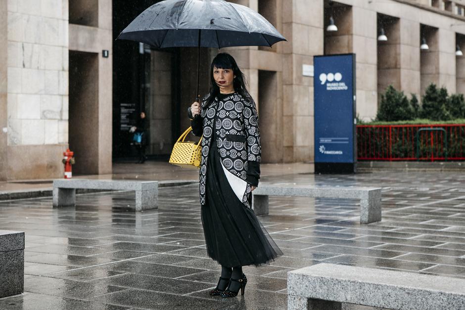 sandra Bacci, pioggia, il coraggio degli altri