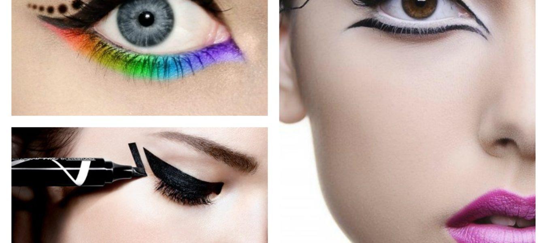 Eyeliner classici o colorati per un rientro frizzante