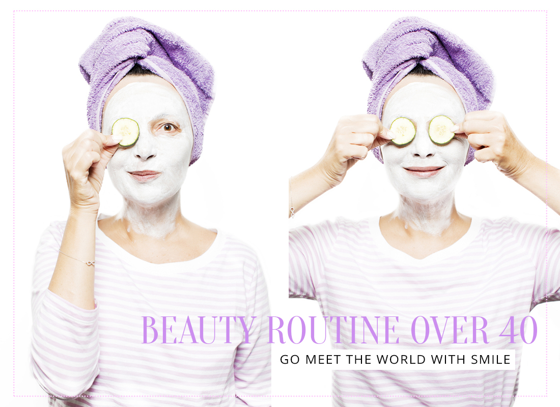 Noi, le zampe di gallina e la beauty routine over 40