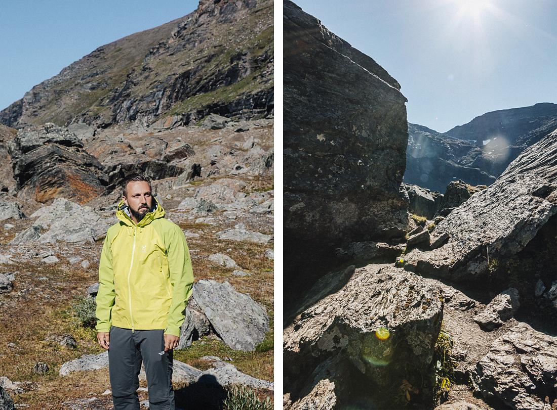 Haglöfs-abbigliamento tecnico-rockhightspirit-svezia-lagoTrollsjon e Rissanjaure-GorgioLeone
