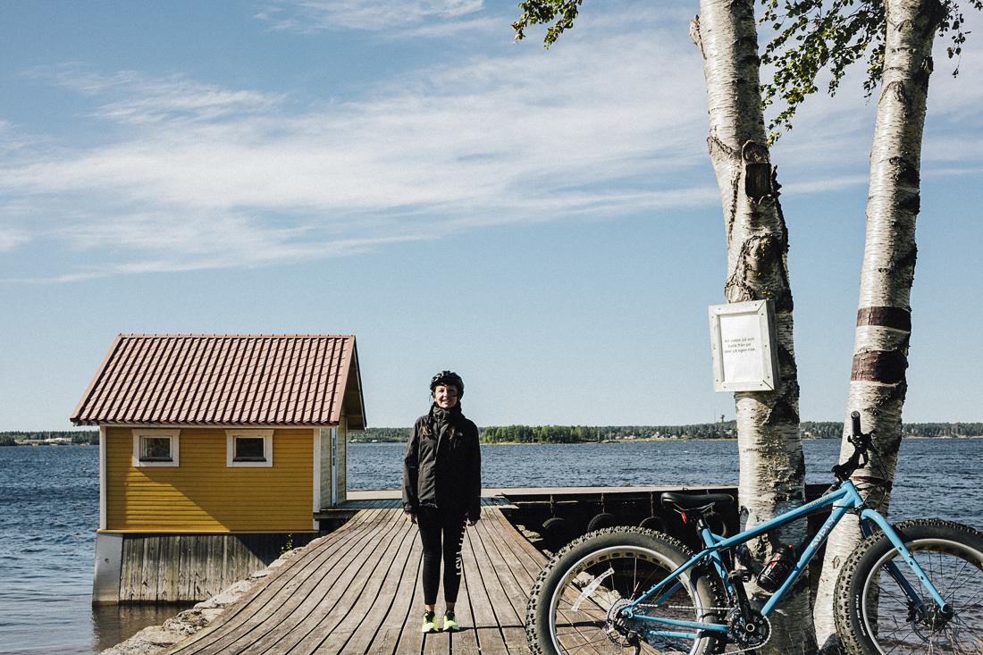 Ouroboros Luleå, fat bike