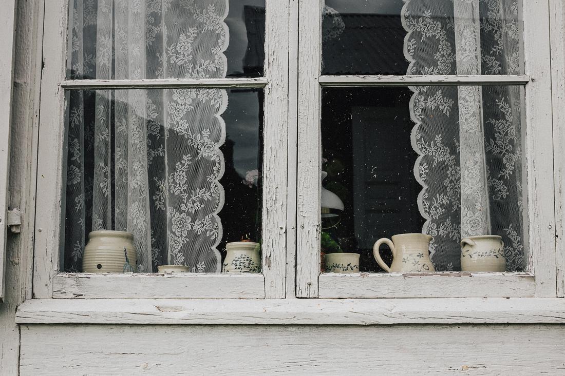 Gammelstad Churchtown, dettaglio finestra