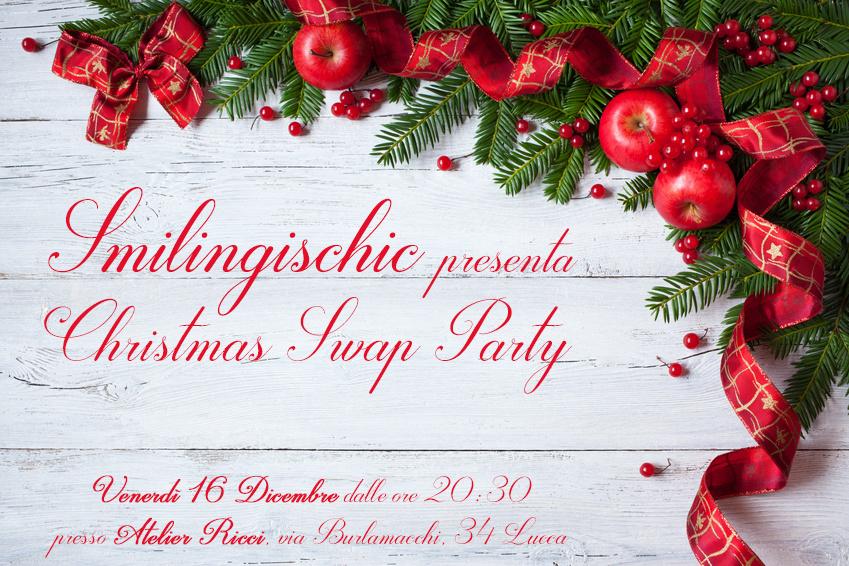 Locandina swap party natalizio, Sandra Bacci