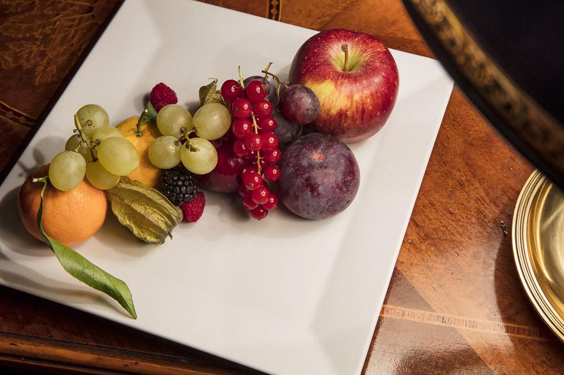 Bagni di Pisa Palace & Spa: dettaglio frutta di benvenuto