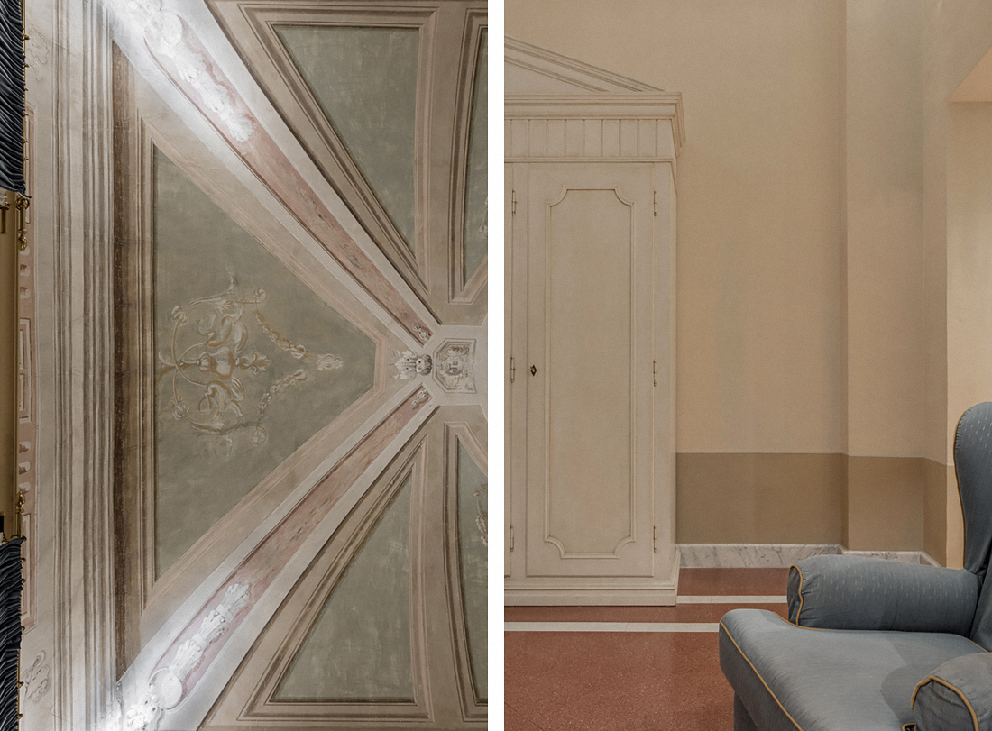 Bagni di Pisa Palace & Spa: dettagli camera suit