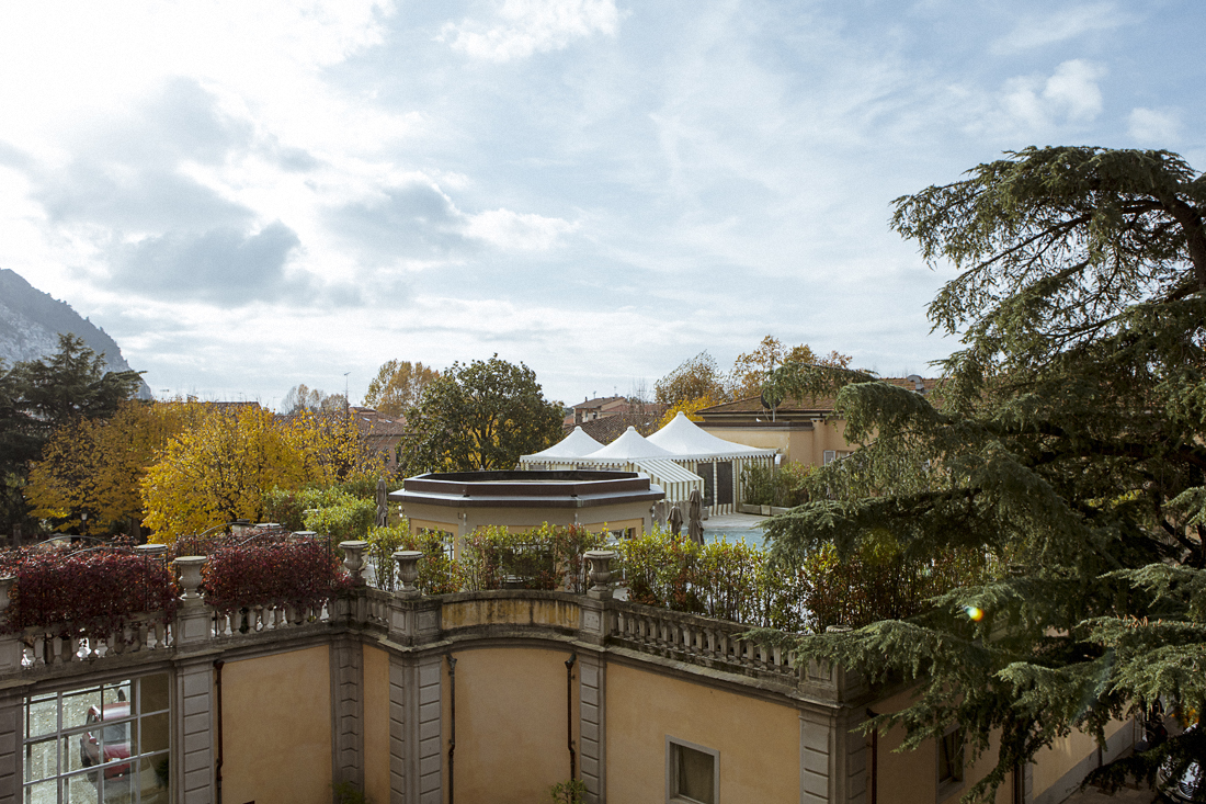 Bagni di Pisa Palace & Spa: veduta dalla camera